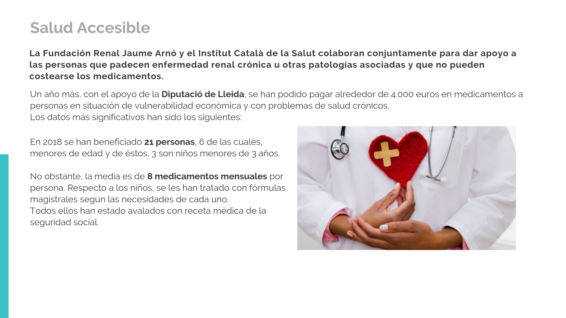 Salud accesible 2018
