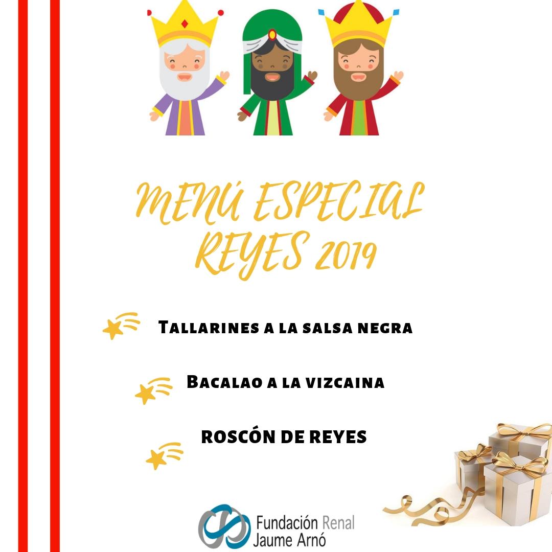 Menú Reyes